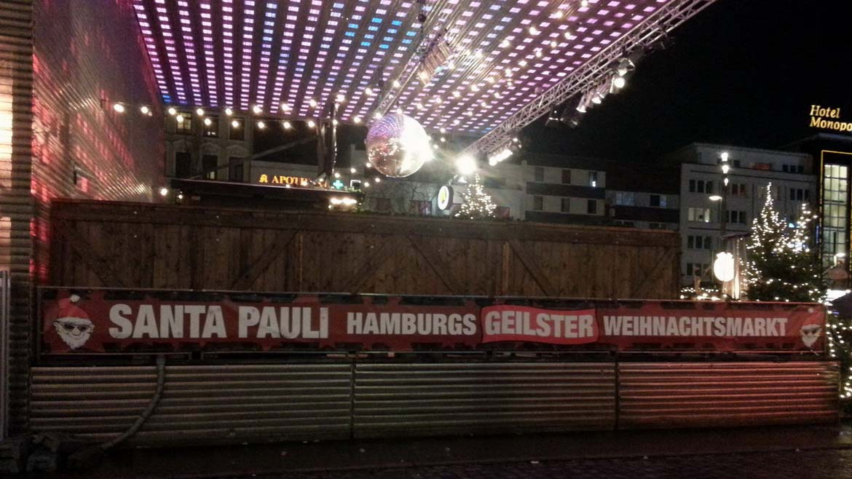 Santa Pauli - geilster Weihnachtsmarkt