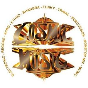 "offizielles Logo ""Cosmic Music"""