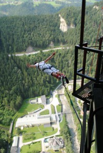 bungy jumping - europabrücke